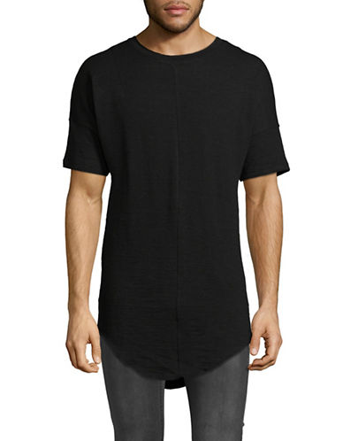 Kollar Front Seam Tee-BLACK-Medium