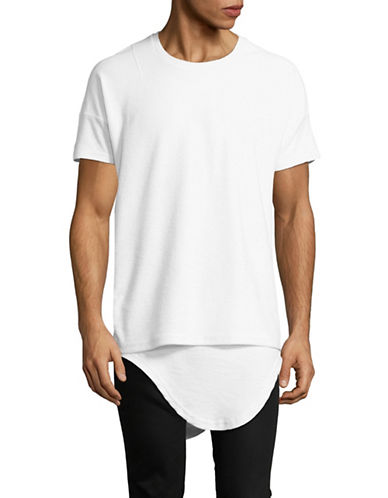 Kollar Inverted French Terry Tee-WHITE-Large