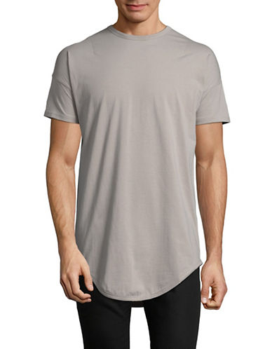 Kollar Essential Crew Neck Tee-GREY-X-Large