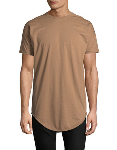 Kollar Essential Crew Neck Tee-TAN-Small