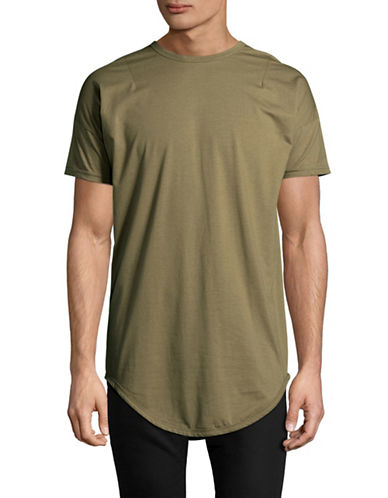 Kollar Essential Crew Neck Tee-GREEN-Small