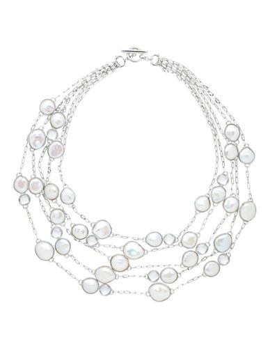 Honora Style 13 to 16mm Multi Freshwater Pearl Necklace-WHITE-One Size