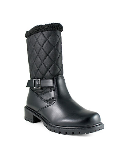 Aquatherm By Santana Canada Whittaker2 Lug Sole Cold Weather Booties-BLACK-7