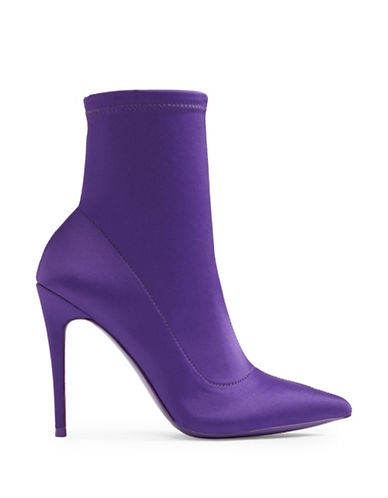 Aldo Cirelle Pointed-Toe Ankle Boots-VIOLET-8.5