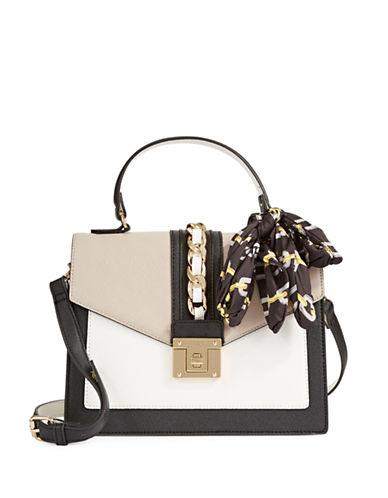 Aldo Colourblock Handle Crossbody Bag-TAUPE-One Size