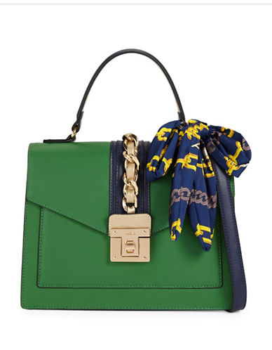 Aldo Glenda Top Handle Bag-GREEN-One Size