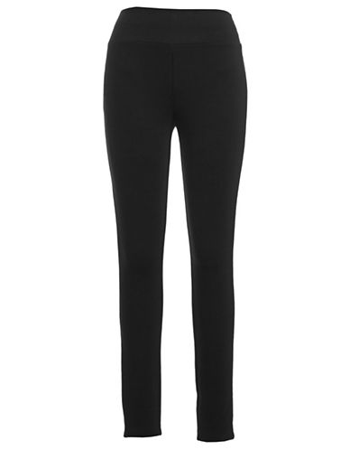 I.N.C International Concepts Ponte Pull-On Pant-BLACK-12