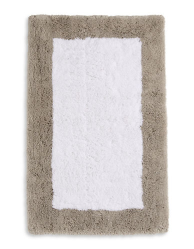 Hotel Collection Thick Pile Cotton Bath Rug-LINEN-One Size