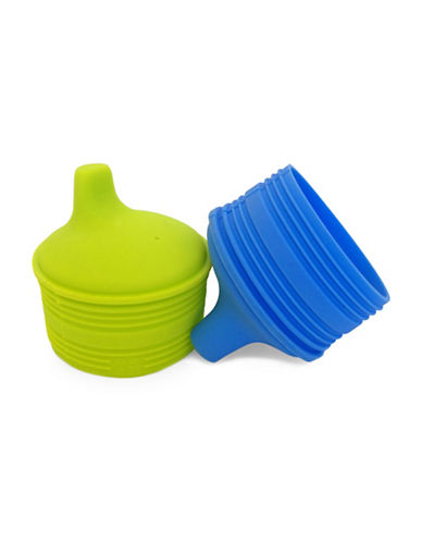 Silikids Siliskin Sippy Tops - 2 Pack-MULTI-One Size