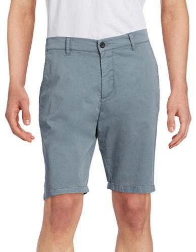 Nn07 Crown Garment-Dyed Shorts-LIGHT BLUE-34