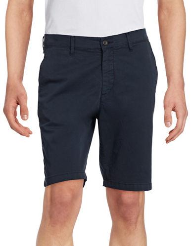 Nn07 Crown Garment-Dyed Shorts-NAVY-32