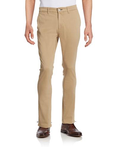 Nn07 Marco Slim-Fit Twill Pants-KHAKI-31X32