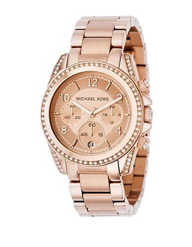 Michael Kors Rose Gold Bracelet Watch-ROSE GOLD-One Size