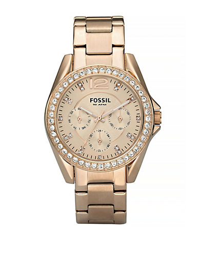 Fossil Riley Rose Gold Watch-ROSE GOLD-One Size