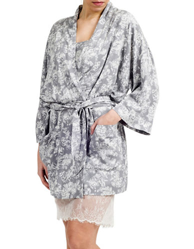 Paper Label Anna Floral Kimono Robe-GREY/IVORY-Medium 88171289_GREY/IVORY_Medium