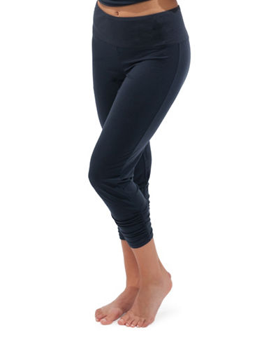 Paper Label Kendall Crop Leggings-BLUE-Small 88515124_BLUE_Small