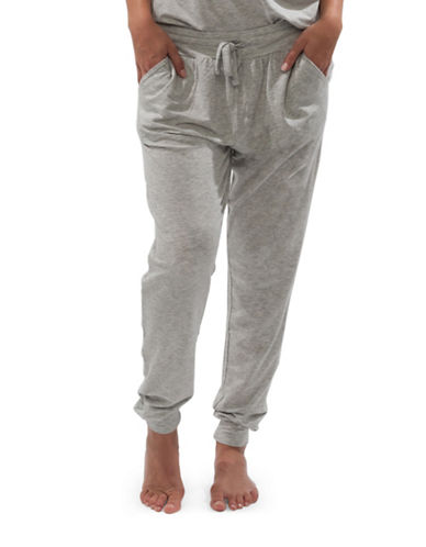Paper Label Heathered Rosie Pants-GREY-Small 88582457_GREY_Small
