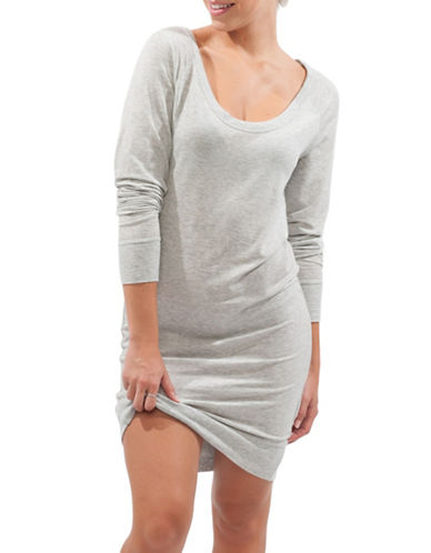 Paper Label Dini Sleep Gown-GREY-Small 88582469_GREY_Small