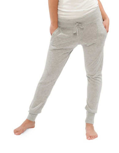 Paper Label Gigi Knit Sweatpants-GREY-Medium 88697653_GREY_Medium