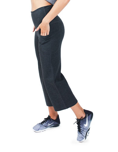 Paper Label High Waist Crop Pant-GREY-Small 88587960_GREY_Small