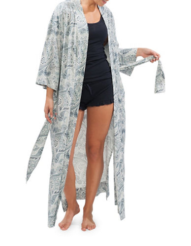 Paper Label Aniston Long Robe-PAISLEY-Small 88692944_PAISLEY_Small