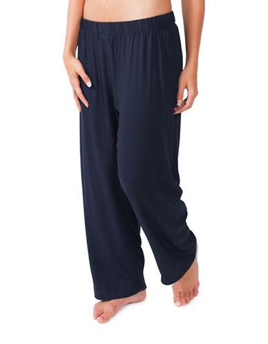 Paper Label Roberts Pajama Pants-BLUE-X-Large 88652317_BLUE_X-Large
