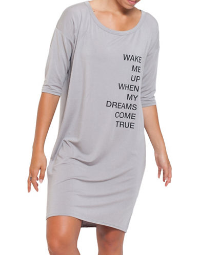 Paper Label Statement Sleep Tee-GREY-Small 88693073_GREY_Small