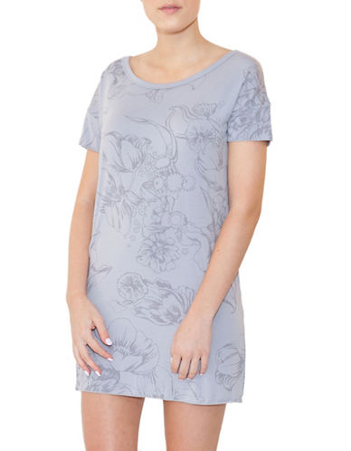 Paper Label Audrey Tunic-LILAC GREY-Small