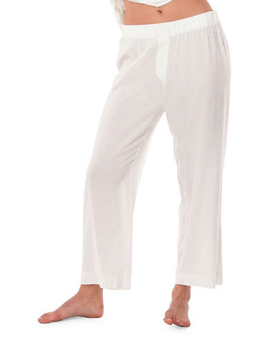 Paper Label Roberts PJ Pants-WHITE CLOUD-X-Small