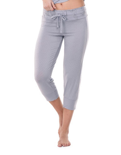 Paper Label Solstice Cropped Pants-GREY-Small