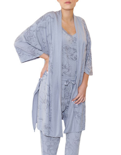 Paper Label Wintour Kimono Robe-LILAC GREY-Medium 88997579_LILAC GREY_Medium