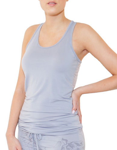 Paper Label Helena Tank Top-LILAC GREY-X-Large