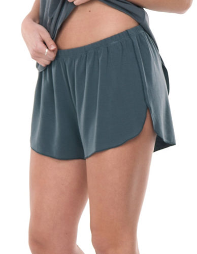 Paper Label Chrissy Shorts-GREY-Small 89224360_GREY_Small