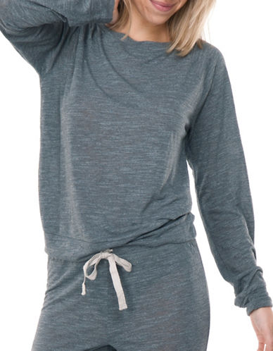 Paper Label Darryl Crew Neck Sweatshirt-GREY-Medium 89146660_GREY_Medium