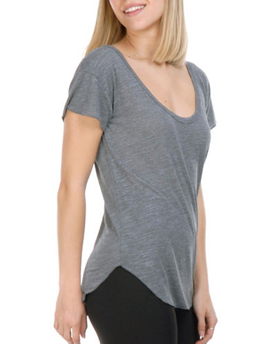 Paper Label Hayley Muse T-Shirt-GREY-Medium 89362285_GREY_Medium