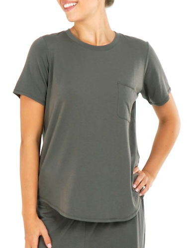 Paper Label Emily Knit Tee-GREY-Large