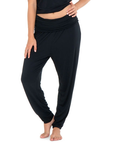 Paper Label Maternity Meesha Pants-BLACK-X-Large