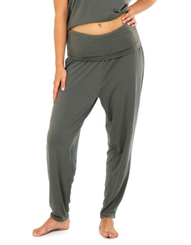 Paper Label Meesha Pants-GREEN-Medium