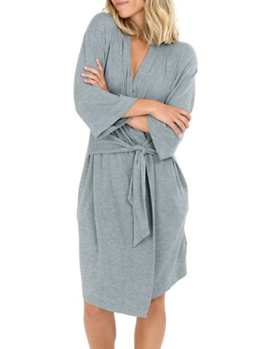 Paper Label Arabella Self-Tie Robe-GREY-Large 89873766_GREY_Large