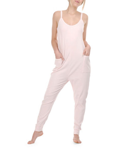 Paper Label Nicola Strappy Jumpsuit-PINK-Large