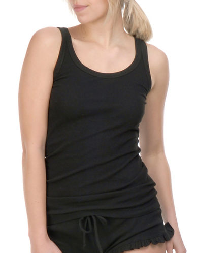 Paper Label Mara Knitted Tank-BLACK-Medium