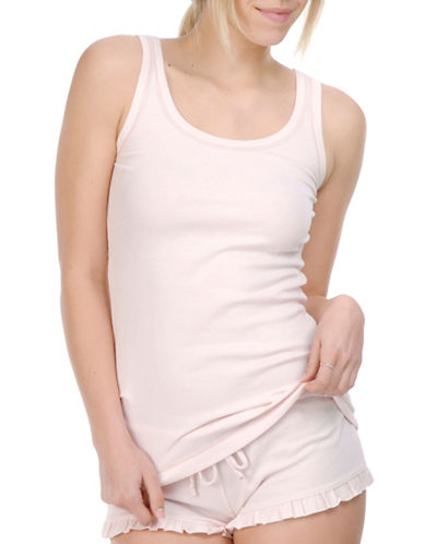 Paper Label Mara Knitted Tank-PINK-Large
