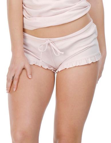 Paper Label Isabeli Drawstring Shorts-PINK-Medium/Large