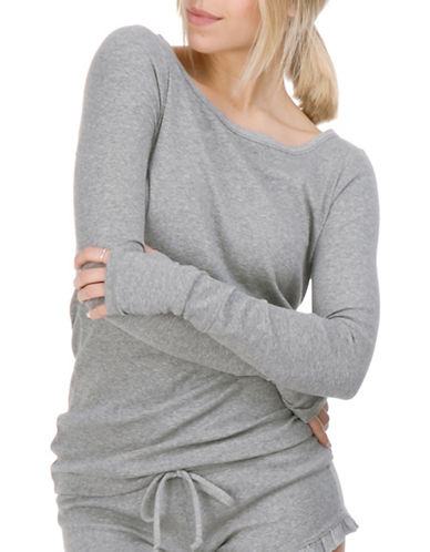 Paper Label Jessa Knitted Sweater-GREY MIX-Small