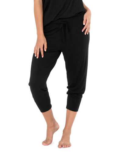 Paper Label Whitney Sweatpants-BLACK-Small