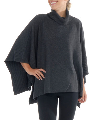 Paper Label Liya Poncho Sweater-GREY-Medium/Large 89577740_GREY_Medium/Large