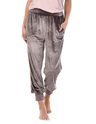 Tonia Velour Pants by Paper Label