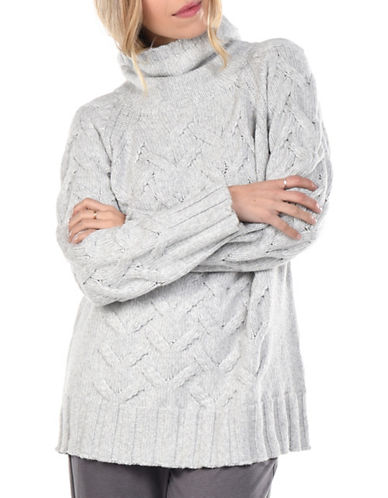 Paper Label Abbey Wool-Blend Sweater-LIGHT GREY-Large 89990713_LIGHT GREY_Large