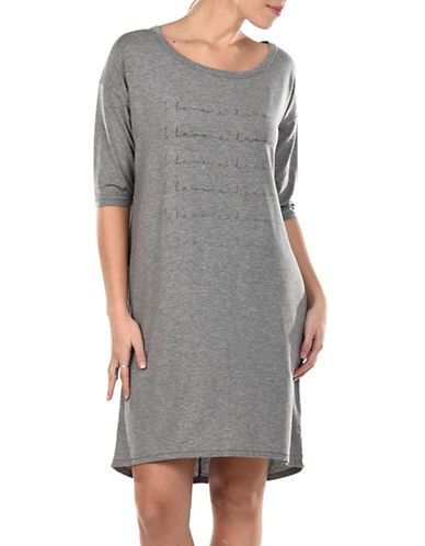 Paper Label Aliya Statement Nightshirt-GREY-Large 89990785_GREY_Large