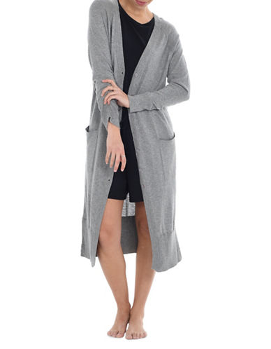 Paper Label Taylor Light Long Cardigan-GREY-Small 90028884_GREY_Small